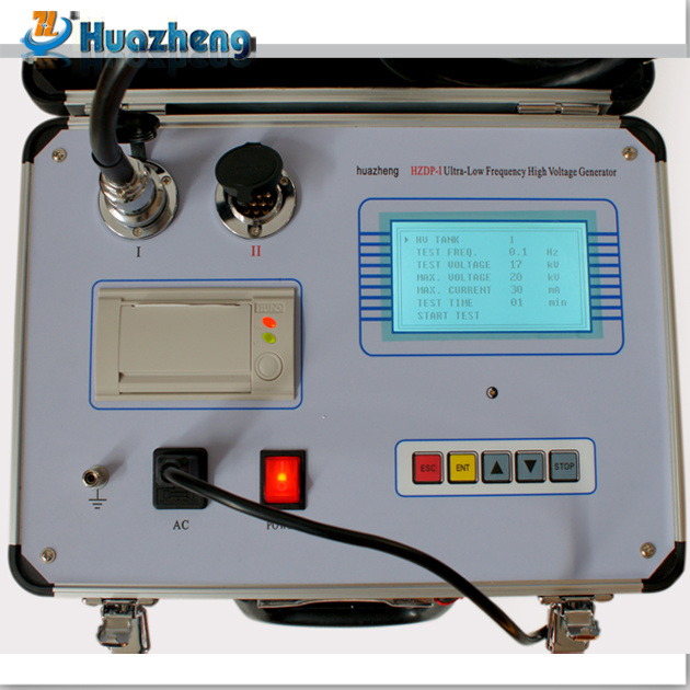 Made in China 2017 AC Vlf Cable High Voltage Hipot Tester
