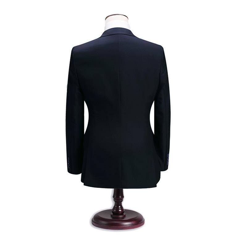 Linen Men Business Wedding Suits for Groom