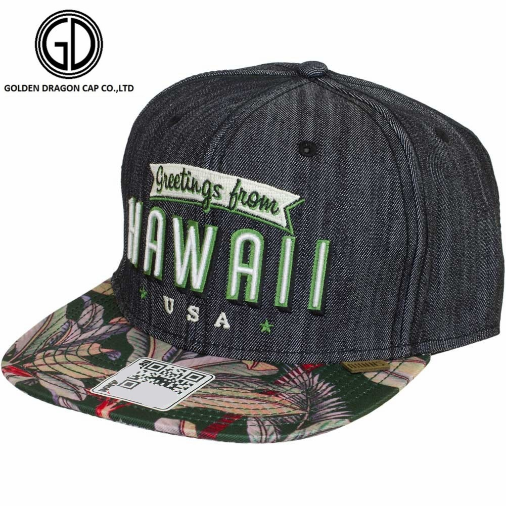 High Quality Fashion and Leisure Embroidery Snapback Cap