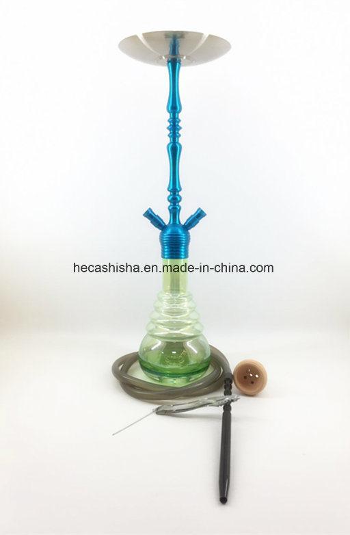 2017 Newly Launched Zinc Alloy Nargile Smoking Pipe Shisha Hookah