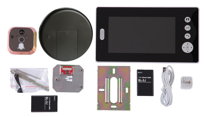 7 Inch LCD Monitor Wireless Doorbell
