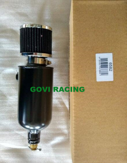 Alloy Oil Catch Tank Wth Drain Cock 1/2′′npt 750ml with Air Breather