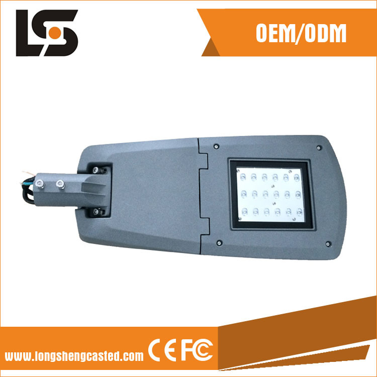 Die Casting Aluminum Material LED Street Light Lamp Housing
