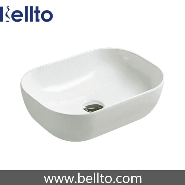 Ceramic/Porcelain Sanitary Ware Wash Basin with Bathroom Accessories (3058B)
