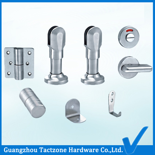Guangzhou Bathroom Cubicle Partition Accessories Toilet Set