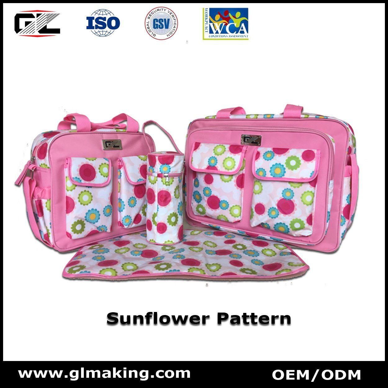 Big Capacity Diaper Bag From Manufacturer