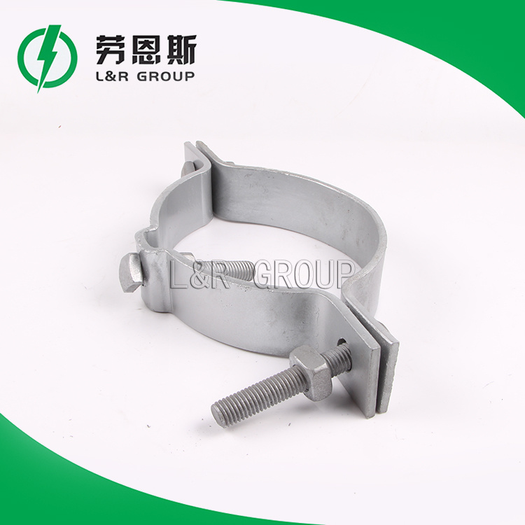 Bracket Saddle Steel/Cable Hoop/Pole Clamp Type Ca, Gca, Deg/Power Accessories