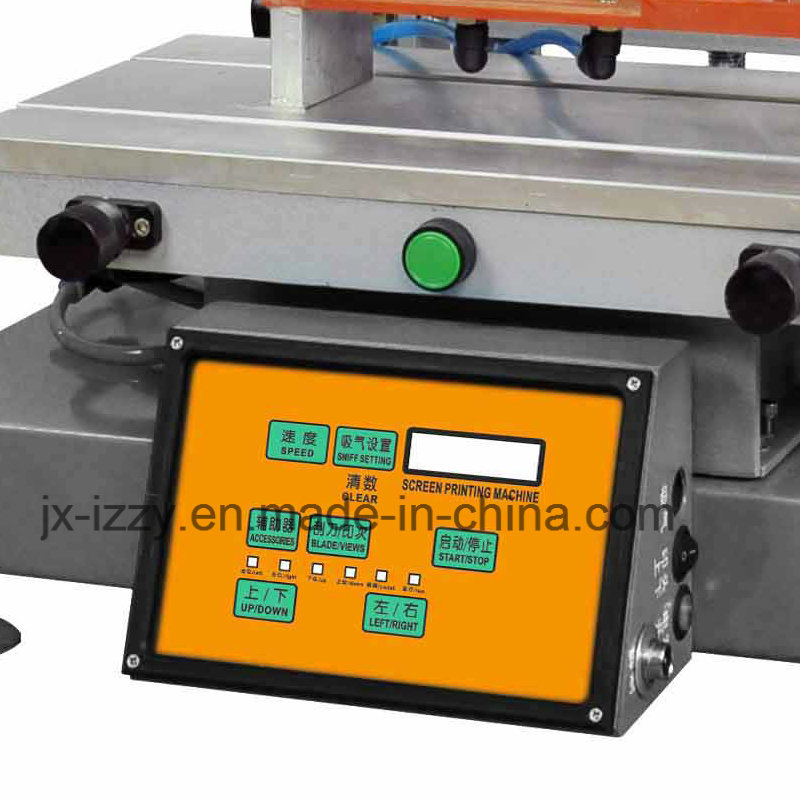 Semi-Automatic Flat Bed Screen Printing Machine for Plastic Bag