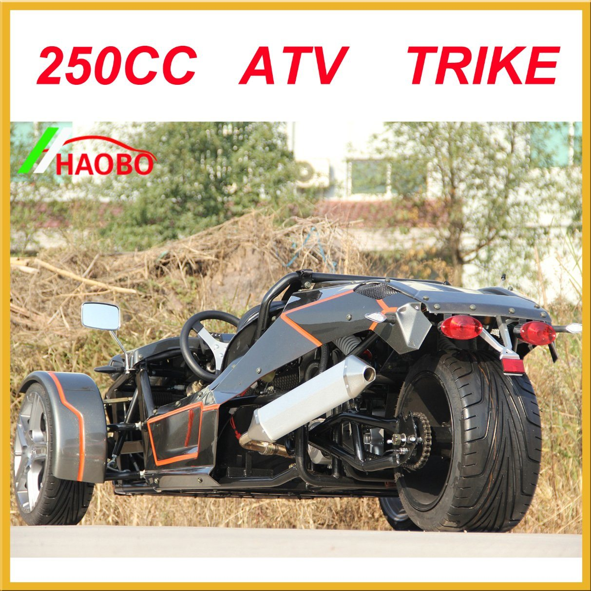 2017 Drift Trike with Windshiled and Rear Spoiler