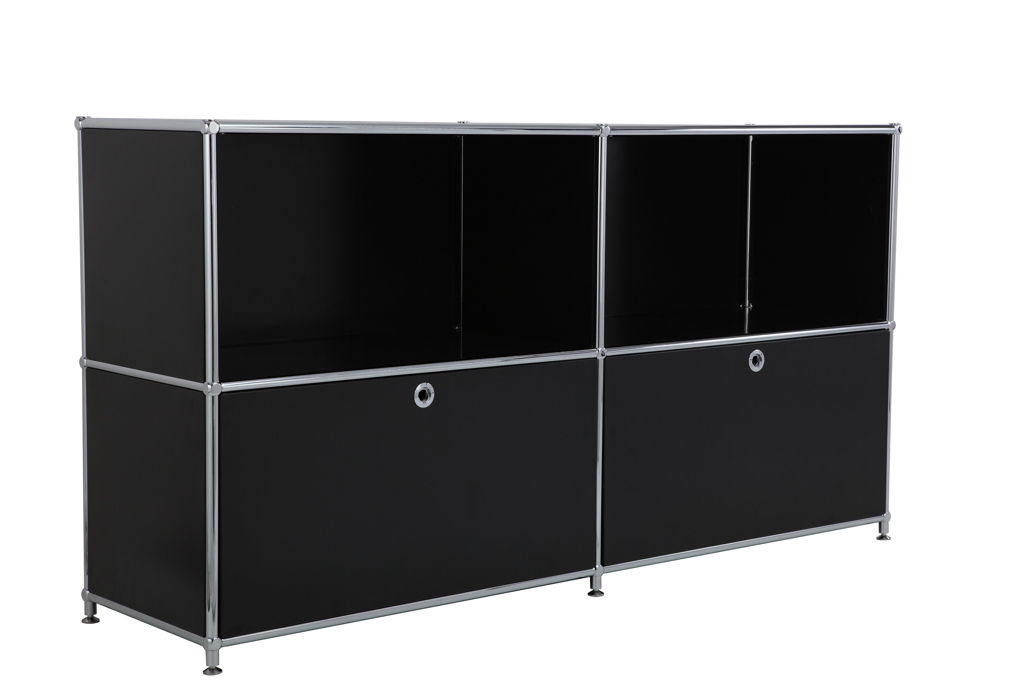New Design Steel Office Furniture 2 Steel Door File Cabinet