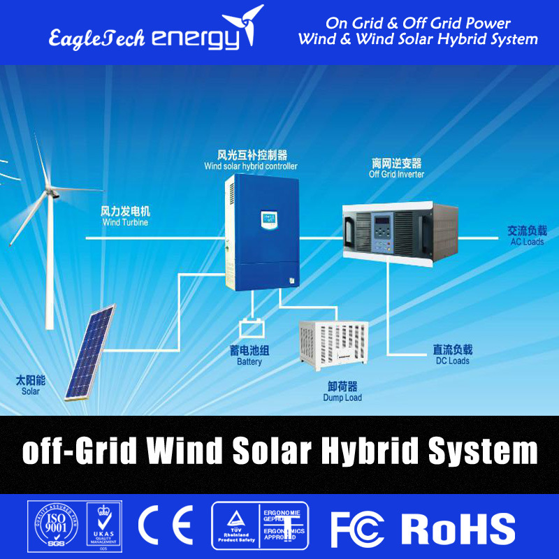 5kw Wind Turbine Generator Wind System Windmill Wind Power System