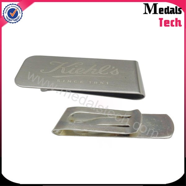 Custom Metal High Polish Blank Stainless Steel Money Clips