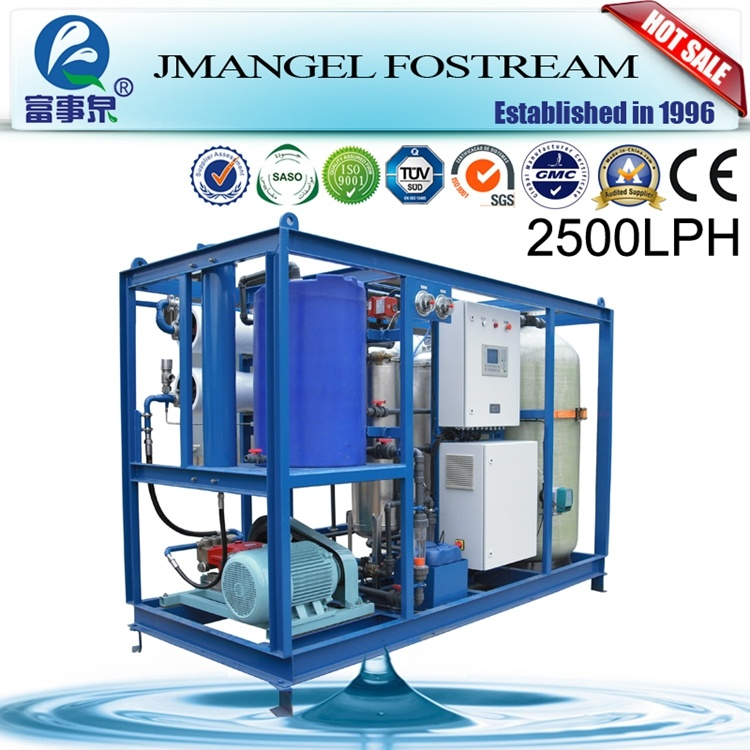 Industrial Dow Membrane Reverse Osmosis System RO Sea Water Treatment