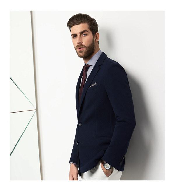 Made to Measure Navy Men′s Jacket Blazer