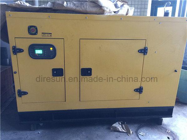 China 50Hz 100kVA Soundproof Diesel Generator with Cummins Engine