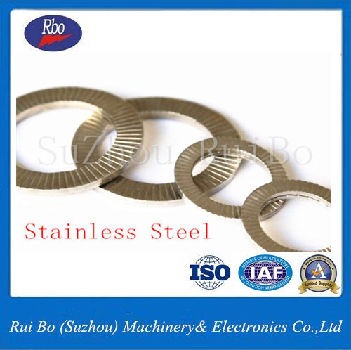 Steel 304/316 DIN25201 Twin Nord Lock Washer
