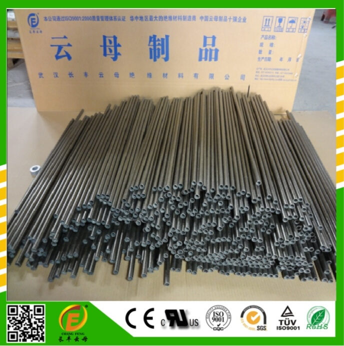 High Temperature Phlogopite Mica Tube Temperature Over 800 Degress