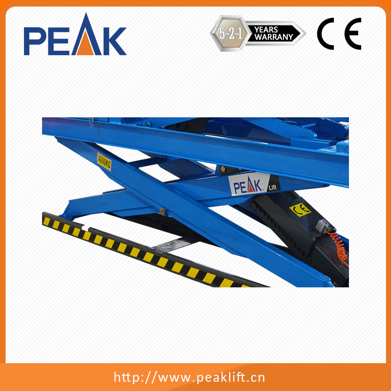 4.0t Capacity Hydraulic Double Scissors Auto Lift with Ce Approval (DX-4000A)