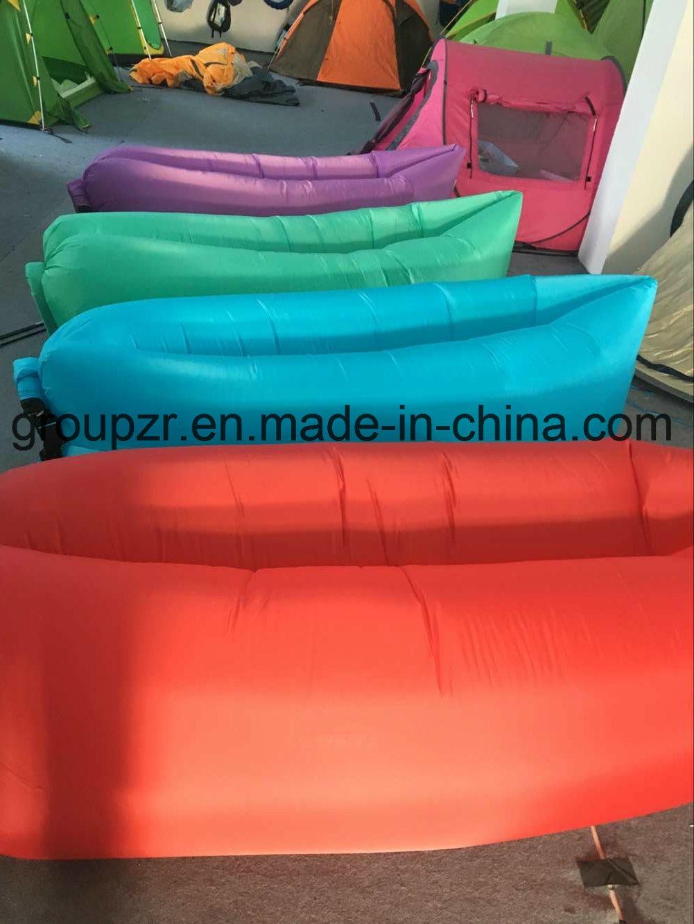 Inflatable Outdoor Sleepingbag Portable Lazy Air Sofa