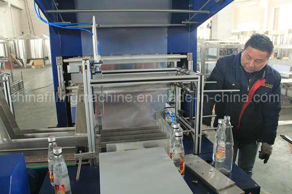 Automatic PE Film Water Bottle Packing Machine with Ce