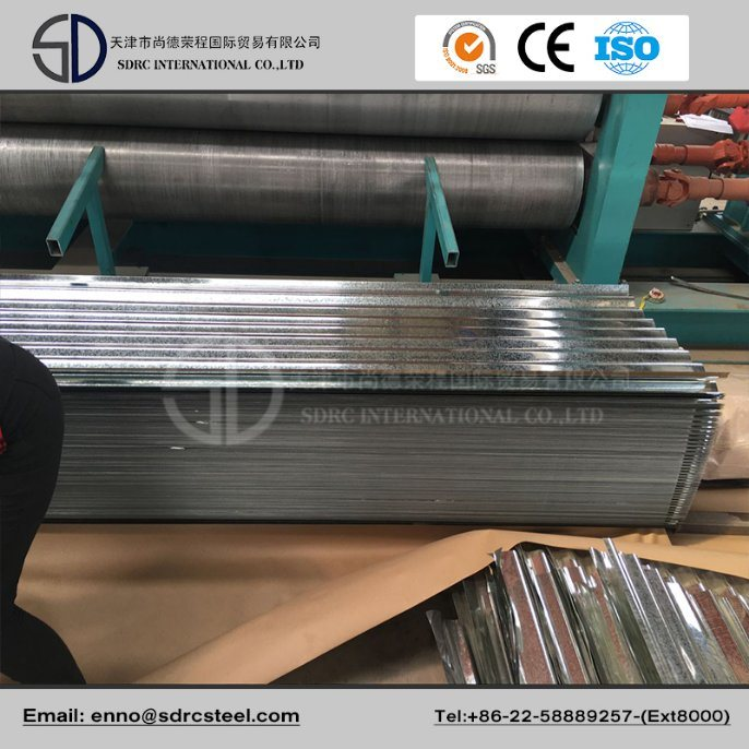 SGCC Zinc Coated Galvanized Steel Coil for Roofing Sheet