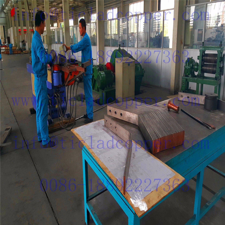 Titanium Clad Copper Bar / Titanium Copper Composite Rods
