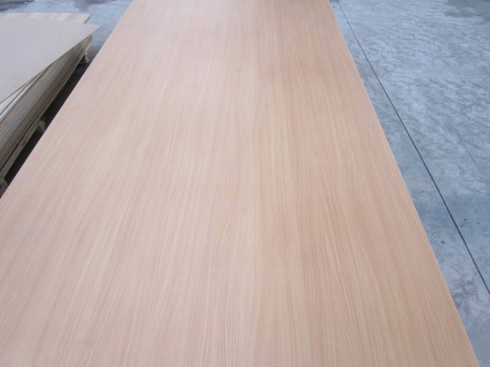 MDF Board with Melamine Paper for Face and Back, Size 1220X2440X18mm