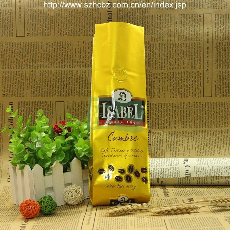 70g 100g 250g 500g 1kg 2kg Coffee Packaging Bag Stretch Film Plastic Bag