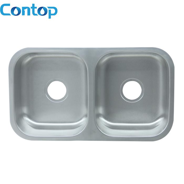 Stainless Steel Kitchen Topmout\Undermount Sink Double Kitchen Sink