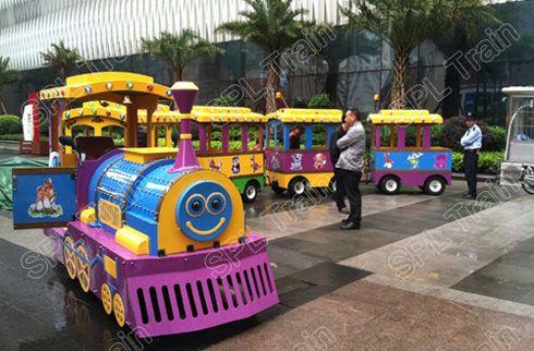 24seats, Kids Riding, Shopping Mall, Park, CE Approved Mini Electric Trackless Train
