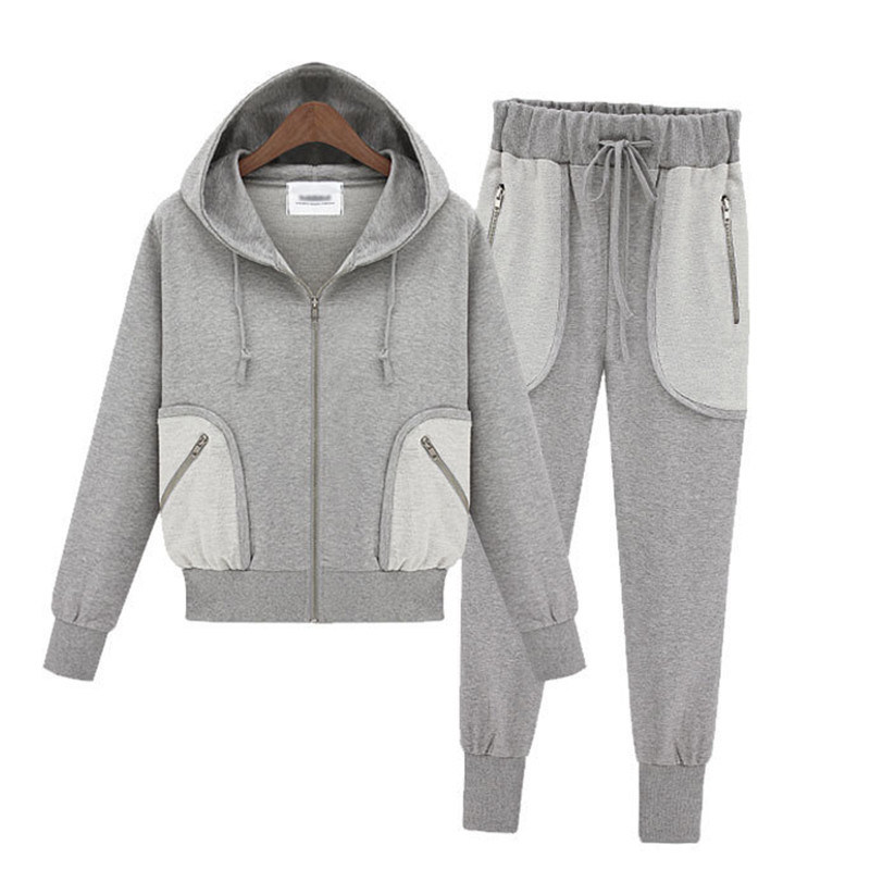 Fashion Leisure Unisex Hoodies Suit (004)