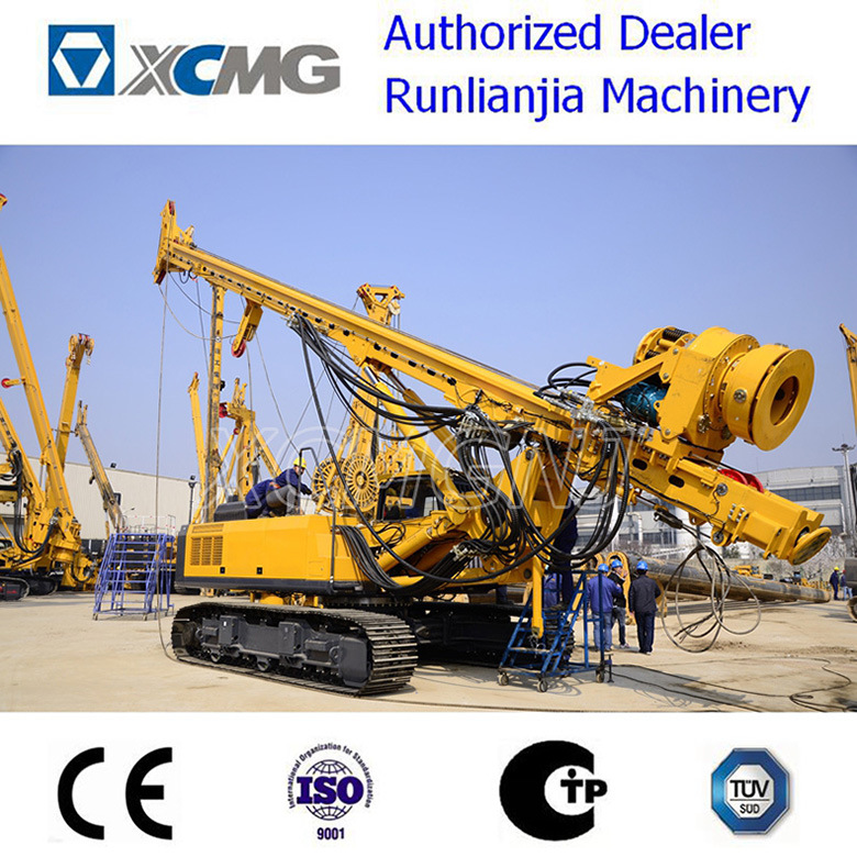 XCMG Used & New Xr220d Rotary Drilling Rig for Ce with Cummins Engine