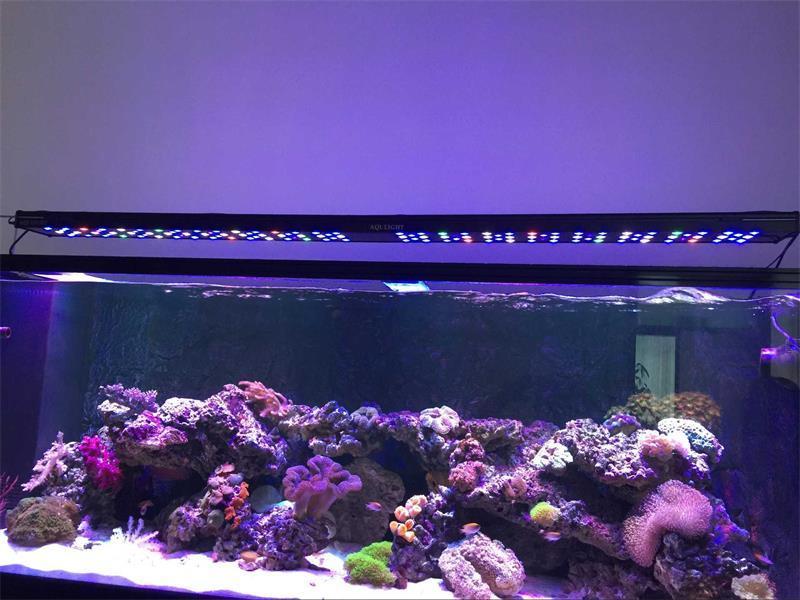 250W 4FT Intelligent Aquarium Light Marine World LED Aquarium Lighting