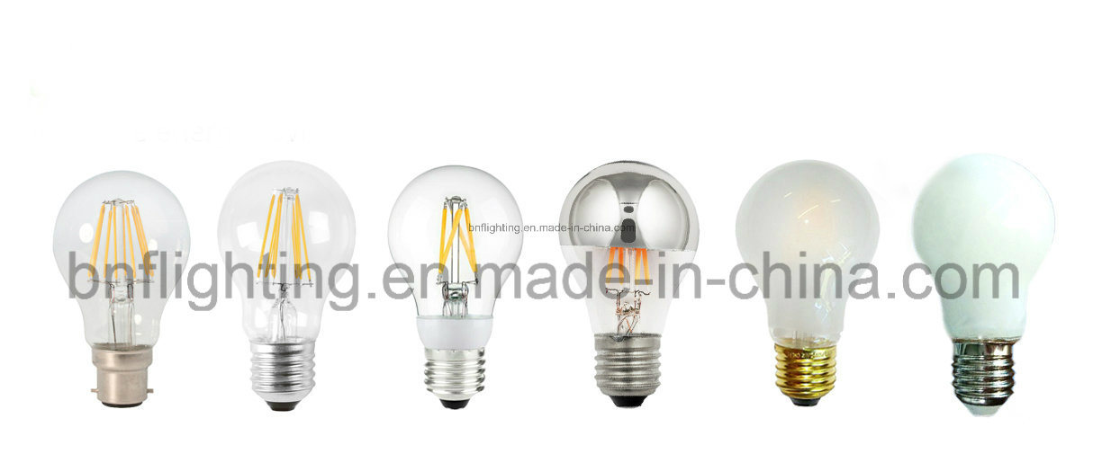 Factory A55/A60 LED Filament Bulb with 2W 4W 6W 8W for Energy Saving