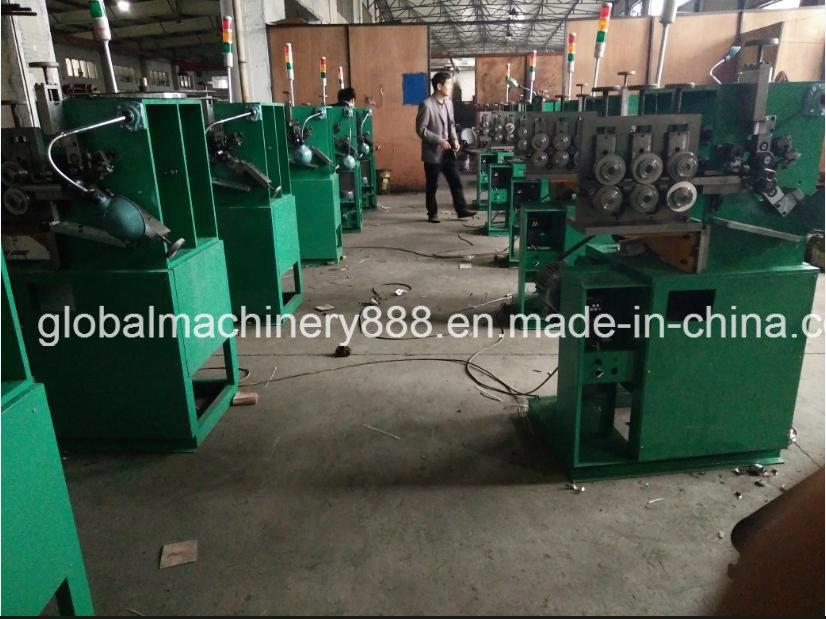 Interlocked Metal Flexible Exhaust Pipe Manufacturing Machine