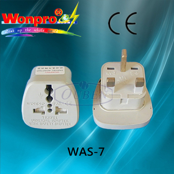 Multi - Purpose Travel Adaptor (Socket, Plug)(WASGF-7)