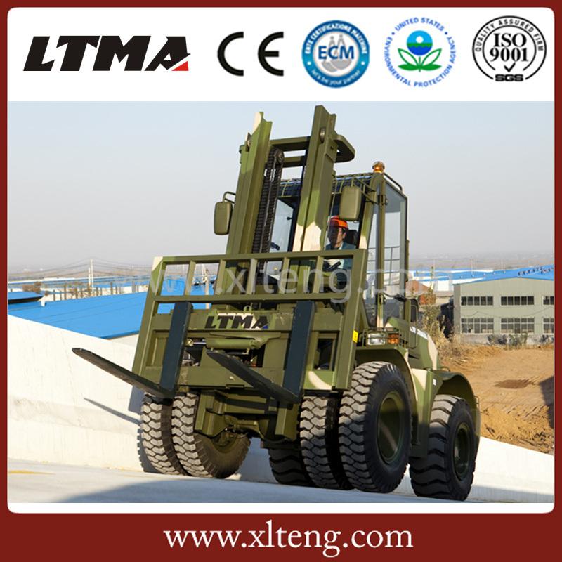 Ltma New off-Road Forklift 5 Ton Rough Terrain Forklift