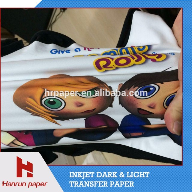 High Quality Soft Scencth Dark Color T-Shirt Heat Transfer Paper for Cotton T-Shirt