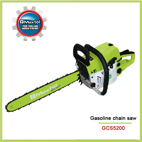 "20"" 52cc Gasoline Chain Saw"