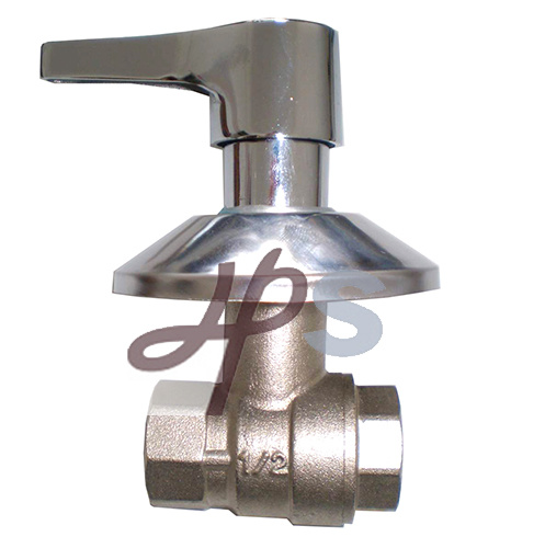 Brass PPR Ball Valve with Ornate Cap