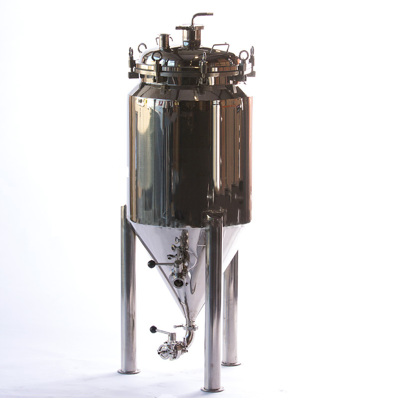 20 Gallon Jacketed Conical Fermenter