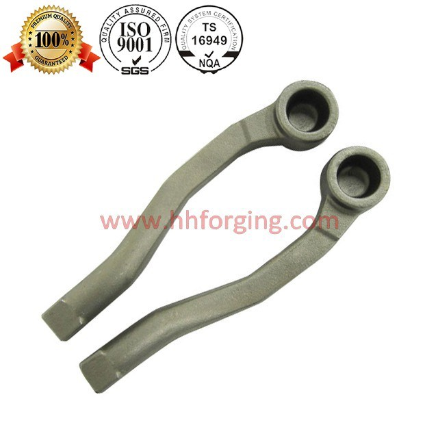 Customized Die Forging Steel and Aluminium Suspension Control Arm