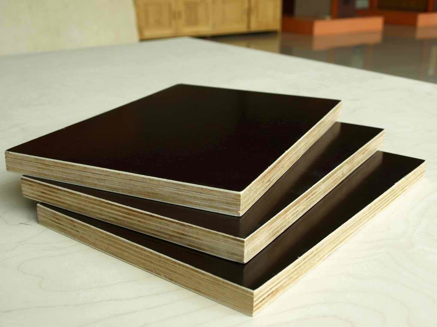 Black Film Faced Plywood/Poplar Plywood