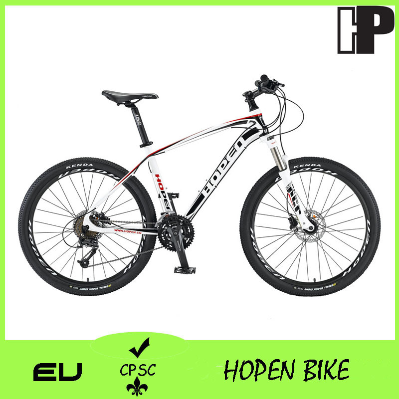 "26"" 27sp Popular Alloy Mountain Bicyle, Black, Hot Sales Mountain Bike"