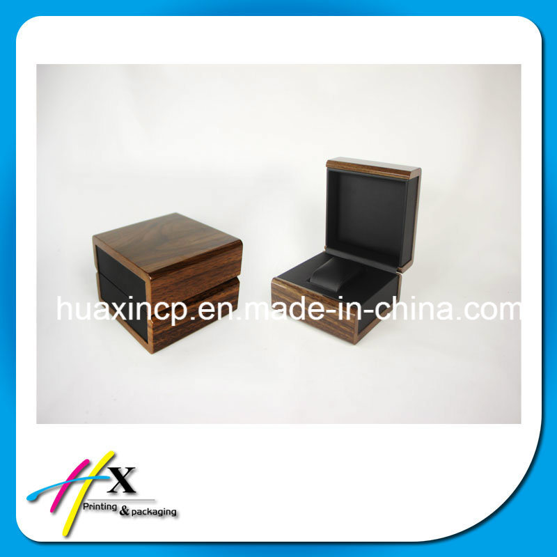 Wooden Carbon Fiber Watch Jewelry Display Packing Gift Box