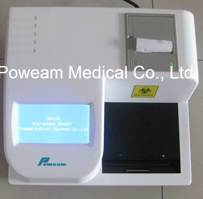 Hospital Clinic Lab Touch Screen Microplate Reader/Elisa Reader (WHY101)