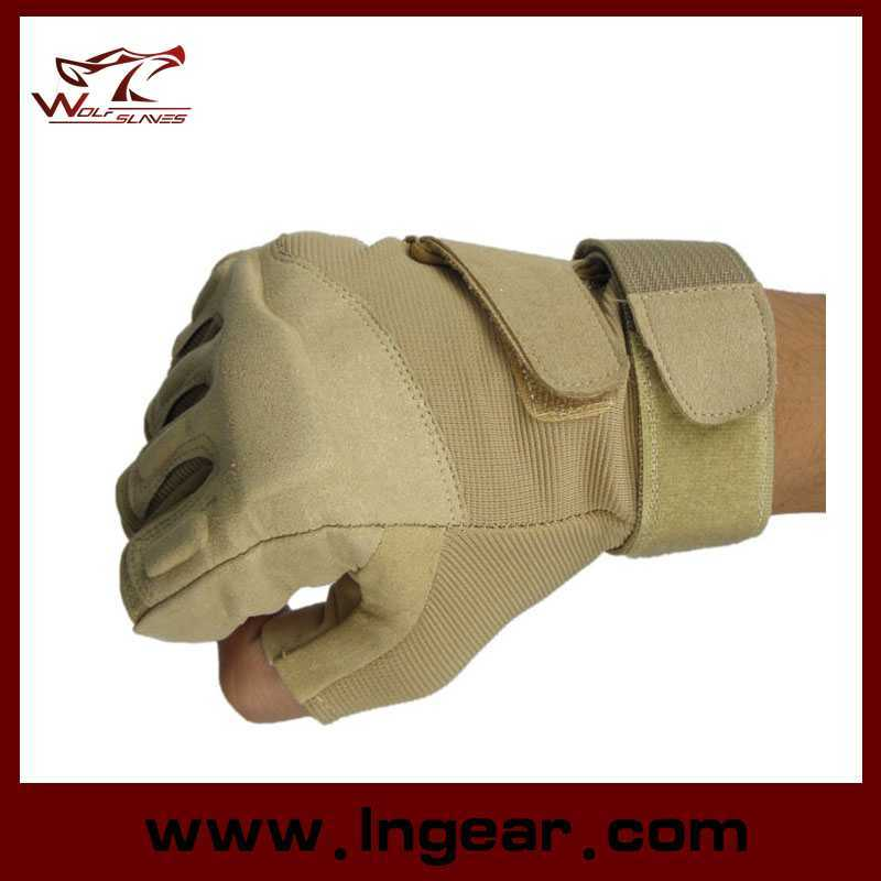 Special Operation Tactical Half Finger Assault Gloves Blackhawk Gloves