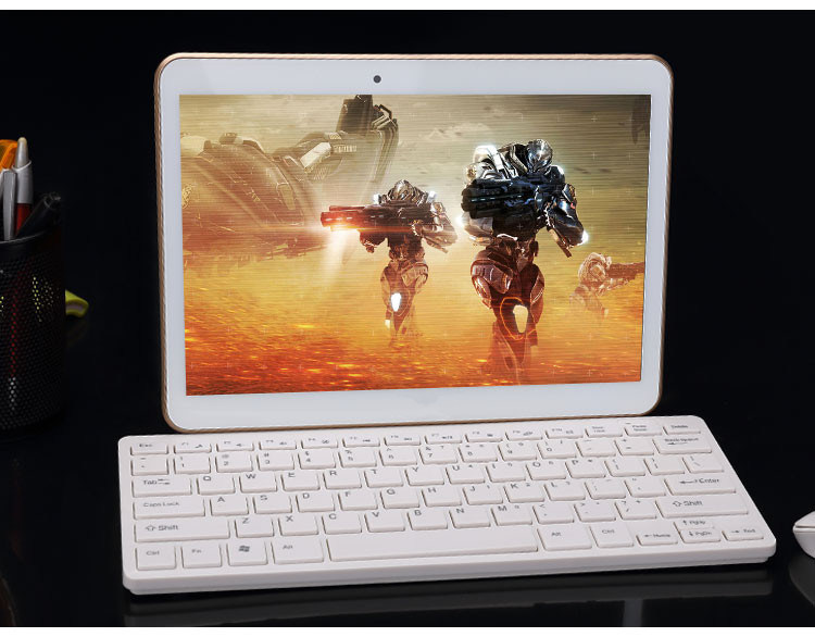 10 Inch Tablet PC Mtk6582 Quad Core IPS 4G RAM 64G ROM Dual SIM Card Android 4.4 3G GPS Tablet PC