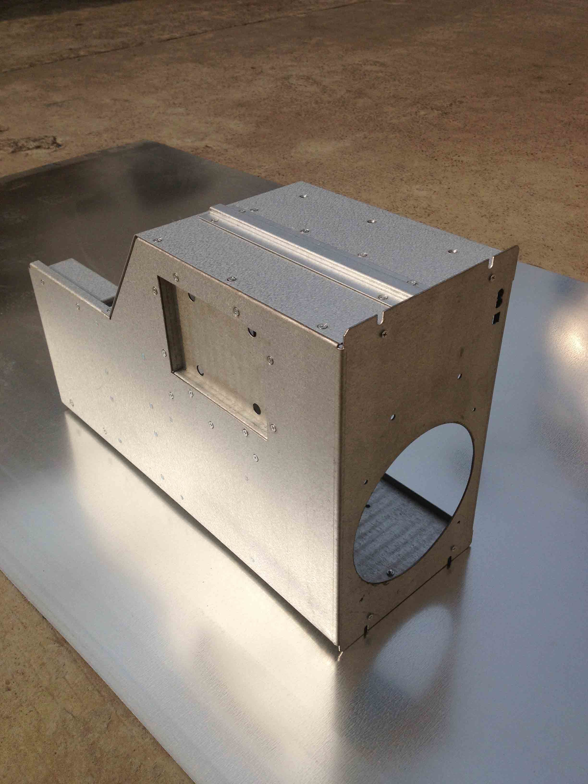 Customized Machine Box for Sheetmetal