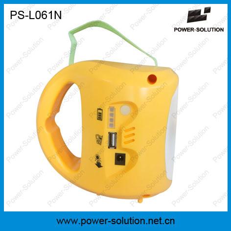 Portable Flashlight, LED Solar Flashlight for Indoor & Outdoor